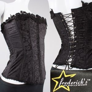 XS 32 Vtg Fredericks of Hollywood Corset Bustier
